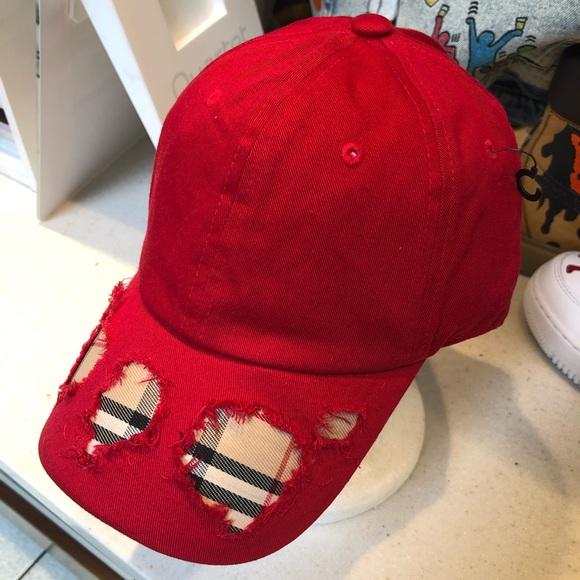 a4e5104a68b Authentic BB Fabric Repurposed Hat